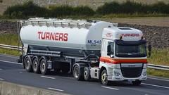 AX15 NLO (panmanstan) Tags: truck wagon motorway yorkshire transport lorry commercial vehicle freight cf tanker sandholme bulk m62 daf haulage hgv