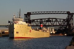 Alpena departing Cleveland 9/17/2015 (crr200) Tags: alpena cuyahogariver ns1