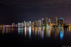 Downtown Miami (RalphEvans Photography) Tags: life city reflection art water colors weather skyline work canon out photography lights perfect colorful downtown shoot raw photographer shot florida miami south go symmetry just photograph passion only my i 5ds ralphevansphotography