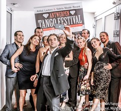 Most maestros of Antwerpen Tango Festival, May 2015