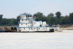 M/V BRENT ICE (Boat Spotters) Tags: river mississippi marine florida greenville towboat rivertraffic marinetraffic boatspotter commercialboat pusherboat boatspotting