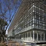 大学図書館の写真