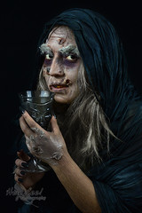 Wutch (Hey_Lee! Photography) Tags: old portrait white snow halloween effects costume scary with makeup evil disney queen creepy special spooky horror macabre aged magical sfx 2015