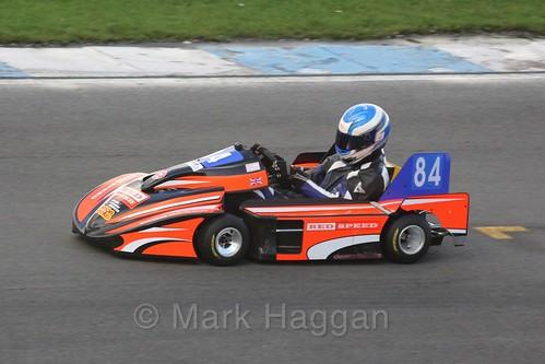 Matt Robinson in his Anderson TM in Superkart racing during the BRSCC Winter Raceday, Donington, 7th November 2015