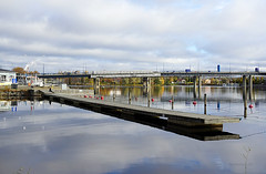Joensuu - Finland (Sami Niemelinen (instagram: santtujns)) Tags: city colors suomi finland river colours north autumm joensuu syksy joki karjala kaupunki laituri carelia vrit pakkahuone pohjois tuulaaki pielisjokis