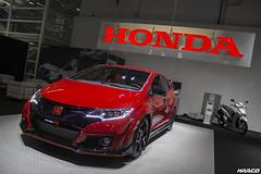 Japanese hatch (Iceman_Mark) Tags: auto show red hot car honda four switzerland milano turbo cylinder civic hatch zrich motorshow typer vtec 2015 2litre