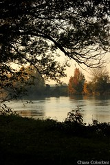 peaceful place (ChiaraColombini95) Tags: park autumn sunset fall water beautiful peace place beaut