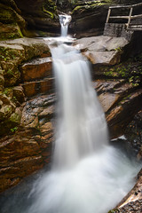 Sabbaday Falls (sarah_presh) Tags: longexposure usa holiday water flow waterfall newhampshire whitemountains roadtrip le kancamagushighway sabbadayfalls nikon1685mm nikond7100