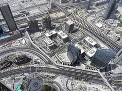 DSCN0220 long way down (M0JRA) Tags: people buildings flying dubai aircraft emirates khalifa views airbus a380 roads airports sites burj