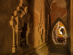 Temple Passage (Argentem) Tags: temple bagin myanmar budda