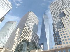 View of One World Trade Center, Lower Manhattan, New York City (lensepix) Tags: newyorkcity skyscraper lowermanhattan newyorkarchitecture newyorkskyscraper oneworldtradecenter
