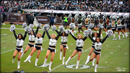 2015 Oakland Raiderettes @ O.co Coliseum