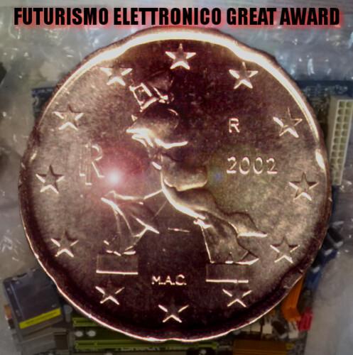 futurismo elettronico award