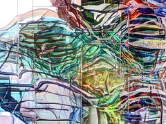 parallel reflections (albyn.davis) Tags: wild sculpture abstract colors amsterdam colorful bright vivid fluid fluidity