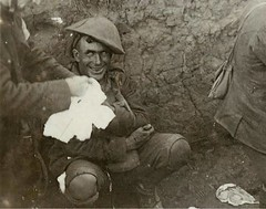 #Shell shocked soldier in the trenches during World War I. 1916 [700x 550] #history #retro #vintage #dh #HistoryPorn http://ift.tt/2fvmQfX (Histolines) Tags: histolines history timeline retro vinatage shell shocked soldier trenches during world war i 1916 700x 550 vintage dh historyporn httpifttt2fvmqfx