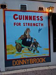 Guinness For Strength, New York, NY (Robby Virus) Tags: newyork newyorkcity ny nyc bigapple manhattan city guinness beer for strength ad advertisement donnybrook bar irish alcohol booze tavern pub