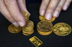 Gold costs edge greater in Asia as busy week looms on central financial institution views (majjed2008) Tags: asia bank busy central edge gold higher looms prices views week