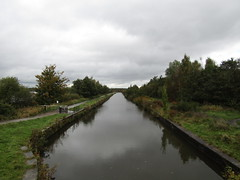 View from Moss Bridge, Wigan this morning. First time in a very long while that I've seen this stretch of canal absolutely deserted. (stevencarruthers93) Tags: greenheart