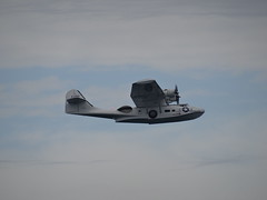 RCAF Catalina, 11005, Portrush 2016 (nathanlawrence785) Tags: rcaf usn royal candadian air force catalina 11005 portrush airwaves 2016 2015 plane aircraft flying boat b25 mitchell norwegian north american bomber ww2 world war two second