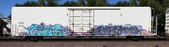Link/Crene (quiet-silence) Tags: graffiti graff freight fr8 train railroad railcar art link crene sfb jrsx simplot reefer jrsx6113