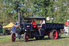 1918 Foden Steam Wagon 7926 (Davydutchy) Tags: flaeijelfeest flaeijel festival nieuwehorne nijhoarne oudehorne ldhoarne frysln friesland frisia nederland netherlands niederlande paysbas stoom steam dampf vapeur foden wagon 7926 m9602 compound september 2016