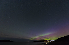 sky magic (Borderli) Tags: nachthimmel nacht himmel sterne aurora polarlicht northernlights auroraborealis bigsand gairloch sky night stars beach nikond750