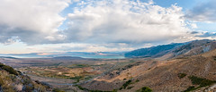 Mono Lake from the top (Ettore Trevisiol) Tags: ettore trevisiol nikon d300 nikkor 18 70 mono lake