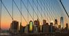 133 years (D. Inscho) Tags: brooklynbridge newyorkcity oneworldtrade downtown antitwilightarch sunrise skyline canon5diii 2470mm28 usa