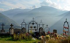 Best view....for ever.... (HervelineG) Tags: cimetire cemetery montagne alpesdehauteprovence d7000 mountain explore
