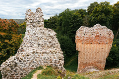 Eastern Europeane castle ruins / Osteuropäische Burgruinen