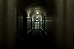 Final Exit (blueteeth) Tags: passage hallway dark dreamstate lightattheendofthetunnel eerie mysterious foreboding