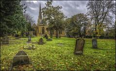 Church of the Holy Sepulchre, Northampton (Darwinsgift) Tags: church holy sepulchre northampton northamptonshire hdr photomatix nikkor 24mm f35 pce d mf nikon d810