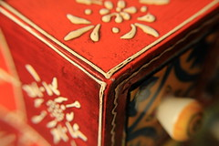Edge (explore) (lorenzhome) Tags: macromondays edge box orange painted