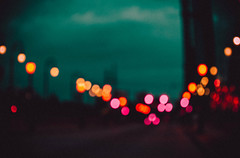 @FYABRIANSCOTT (fya_brianscott) Tags: nikon bokeh sunrise sun sky light lights out focus travel street story bright color colorful vivid vibrant fish eye urban architecture city cityscape road path beauty alive freedom explore create dots blue orange dark low