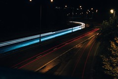 #night #nighttraffic #fail the shutter speed was to short, My mistake. (Kevin Blomkvist) Tags: night nighttraffic fail