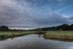 Kromme Rijn, Bunnik the Netherlands (Lex Vermeend Photo's) Tags: krommerijn bunnik sunset sunrise netherlands nederland nature nederlands zonsopkomst zonsondergang river rivier rhijnauwen