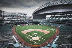 Seattle's Field of Dreams (seango) Tags: usa pnw pacificnorthwest pacific northwest nikon d600 seango travel photography travels tourism getaway trip vacation 2016 october seattle washington wa mariners mlb baseball stadium safeco field safecofield park ballpark retractable roof