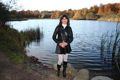 IMG_5329 (Kira Dede, please comment my photos.) Tags: kiradede kirad 2016 crossdresser copenhagen lingerie stockings upskirt dyrehaven
