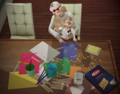 Little crafter (Alicia Chenaux - Ch'Know Blogs) Tags: secondlife secondlifekids secondlifegacha theplayroom box