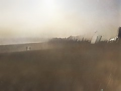 """Tireless, tied, as a moon-bound sea."" Sylvia Plath.      EXPLORED. (Nicki Fitz-Gerald) Tags: mextures painterlyphoto stackables slowshutter weymouth seascape visualpoetry textureart artofmob shotoniphone6 illustration lovetextures"