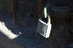 Old lock securely fastened weathered over time (Mila Araujo @Milaspage) Tags: patina brass antique vintage lock weathered weathering environmental effect science locked security alloy metal encryption padlock solid strong unbreakable metapor safety keyhole dayfocusonforeground greencolor nopeople closeup outdoors ironmetal texturesandsurfaces broken metallic oldlock desolate wallbuildingfeature lowangleview padlocked unpenetrable secure protect protection iron steel green safe background secret guard key privacy macro extremecloseup detail safeguard close device stealing rusty dirty enter texture entrance private access rough pad real grunge paint retro