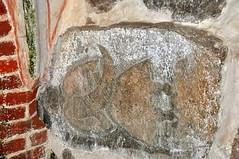 Svantevit stone in Altenkirchen church (lucivo) Tags: arkona svantevit rugen deity slavic early medieval