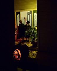 A little disappointed (cmrowell) Tags: petra jeremy jeremy9 matthew matthew11 halloween jackolantern frontporch frontdoor california