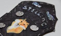 Macro Mondays - Stitches (shireye) Tags: macromondays macro monday stitches quilt banjo closeup stelling redfox nikon d610 24120 ff fullframe fx