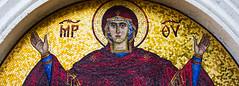 Mosaic (Jos_AmL) Tags: colors mosaic religion art virgin mary orthodox church