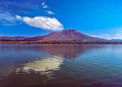 BALI (sandilesmana28) Tags: bali island paradise blue water mount reflection lake kintamani