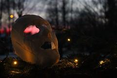 Nn mystisk person har tappat masken (Annica Spjuth) Tags: mystik fs161204 fotosondag mask skymning