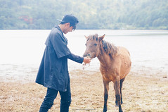 Da Lat (dolosan) Tags: dalat vietnam travel animal horse people vietnamese