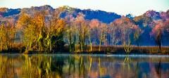 Autumn; at sunrise.... (tomk630) Tags: virginia autumn light colors nature sunrise usa
