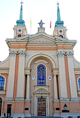 Poland-00911 - St. Francis of Assisi Church (archer10 (Dennis) 85M Views) Tags: poland warsaw sony a6300 ilce6300 18200mm 1650mm mirrorless free freepicture archer10 dennis jarvis dennisgjarvis dennisjarvis iamcanadian novascotia canada globus stfrancisofassisi church garrison military